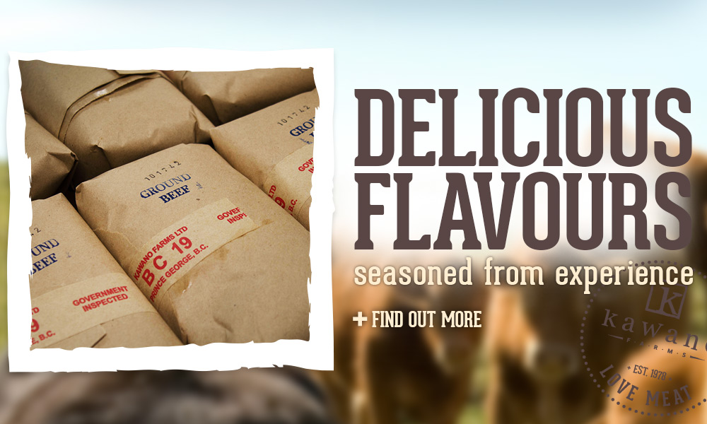 Delicious flavours. Find out more.